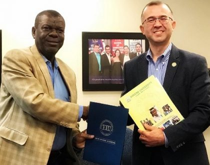 Novena University Signs Memorandum of Agreement with Virginia International University