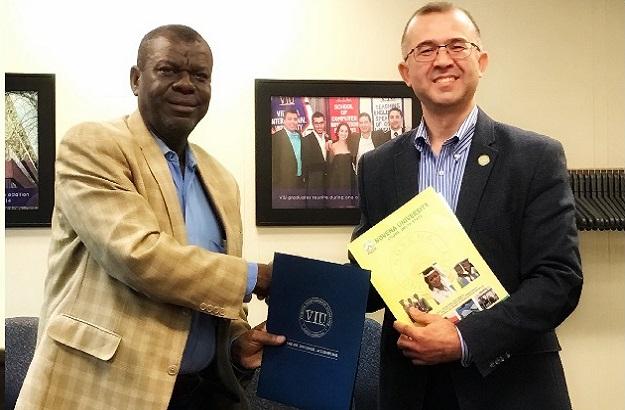 Novena University Signs Memorandum of Agreement with Virginia International University