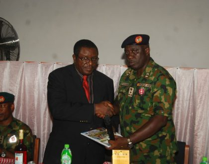 Synergy between Novena University and the Nigerian Armed Forces